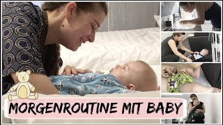 MORGENROUTINE MIT BABY l 4 Monate l HelloCathi