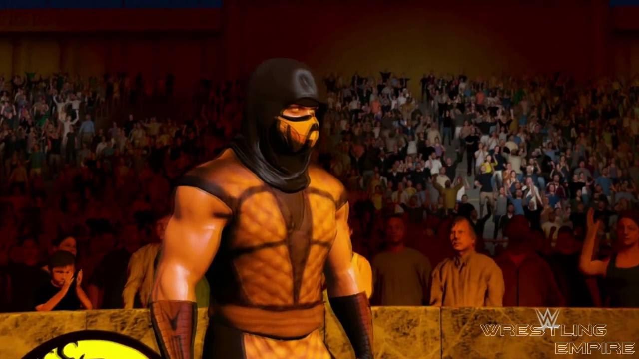 WWE 2K17: Mortal Kombat - Scorpion vs. Sub-Zero vs ...