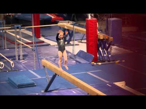 Scarlett's first Level 4 meet - 6 year old gymnast