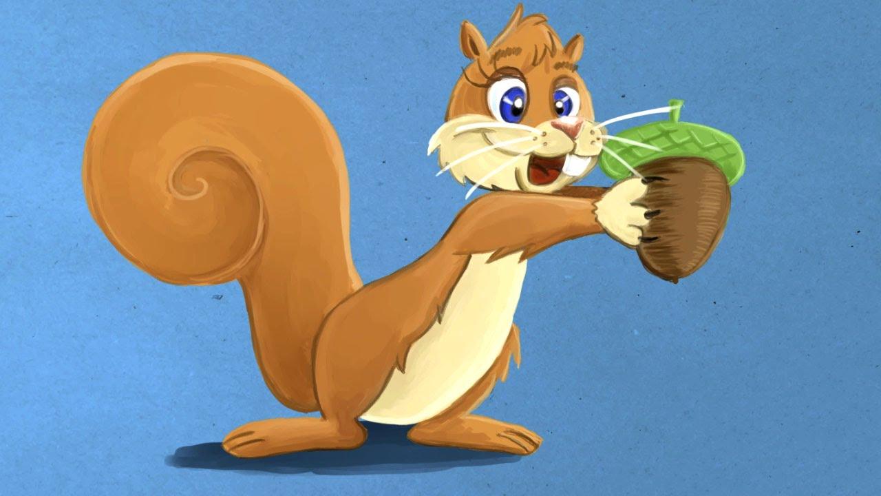 Hoe teken je een cartoon eekhoorn in 5 stappen stefan tekent youtube - Hoe sluit je een pergola ...