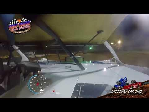 #22 Robert Gant - Super Late Model - 8-11-18 Fort Payne Motor Speedway - In Car Camera