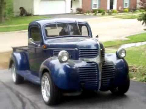 KLA Customs- 1946 Dodge Truck - YouTube