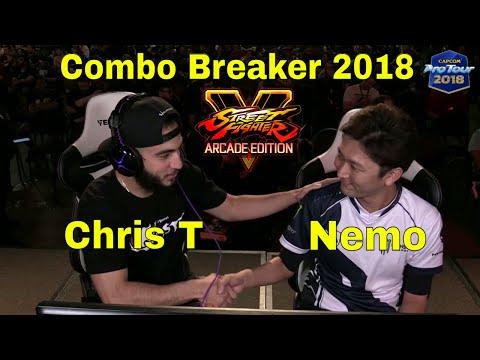 SFV AE - Nemo VS Chris T   Combo Breaker 2018 - Day 2   CPT 2018