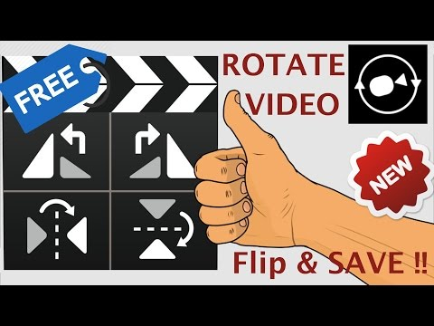 How to Rotate / Flip Video Upside down 180 degrees & save on Windows / Mac Free & Guaranteed