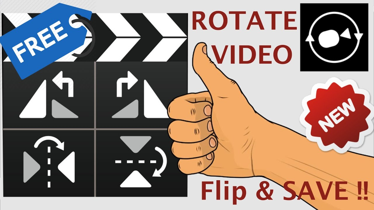 How to Rotate / Flip Video Upside down 180 degrees & save on Windows / Mac  Free & Guaranteed