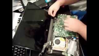 hp 14 touchsmart sleekbook laptop hard drive memory upgrade fan disassemble replacement 14 b109wm