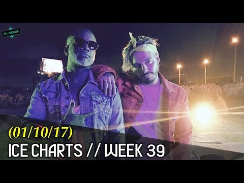 ►Ice Charts l ► TOP 40 (Week 39: 01/10/17)