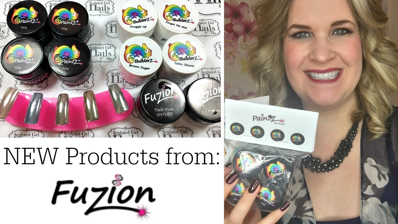 New Gel Nail Products from Fuzion! | Chameleon Fall Romance ...