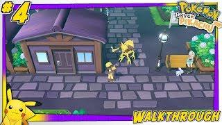 Pokémon: Let's Go, Pikachu! - Lavender Town! | Walkthrough Part #4 Live