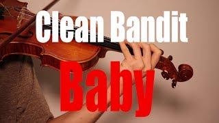 Gambar cover Clean Bandit - Baby (feat. Marina & Luis Fonsi) - Violin Cover (Bossa Nova with Solo)