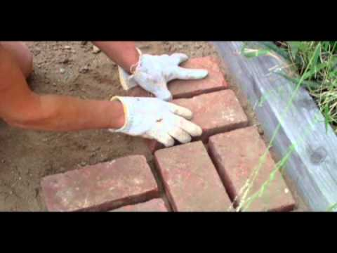 How To Lay Bricks Youtube