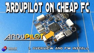 Easy Ardupilot on Omnibus Series: 1. Introduction and flashing the firmware