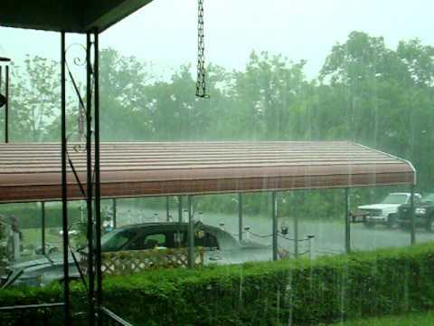 Hail hits Bridgeport, Alabama 4-27-2011 by Dennis Lambert