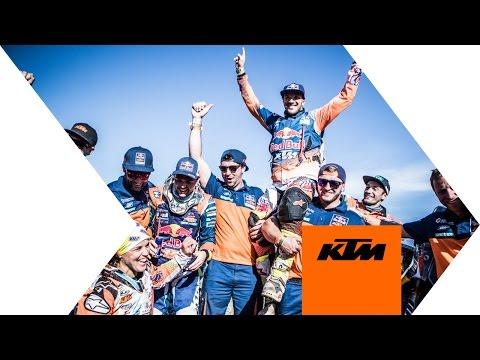 Sam Sunderland wins DAKAR 2017 | KTM