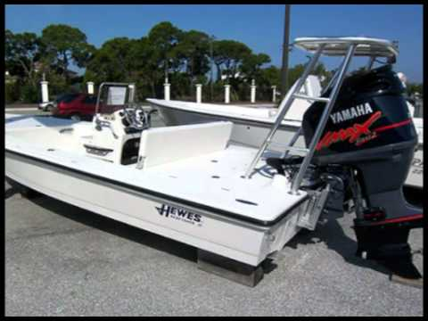 Hewes Flats Boat 21 Redfisher Yacht For Sale