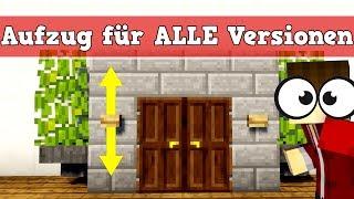 Minecraft Aufzug für Pocket Edition , Konsole und PC   Minecraft Aufzug bauen deutsch