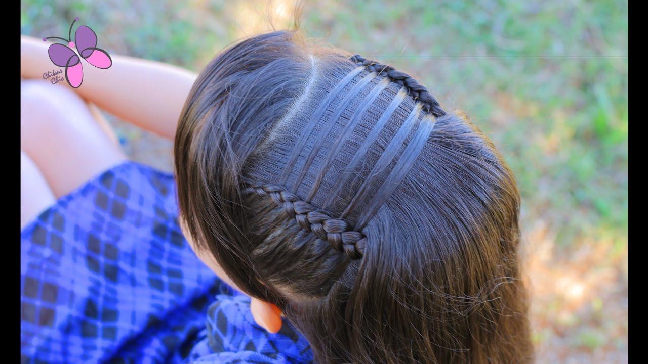Ladder headband cute girly hairstyles braided hairstyles ladder headband cute girly hairstyles braided hairstyles chikas chic urmus Images
