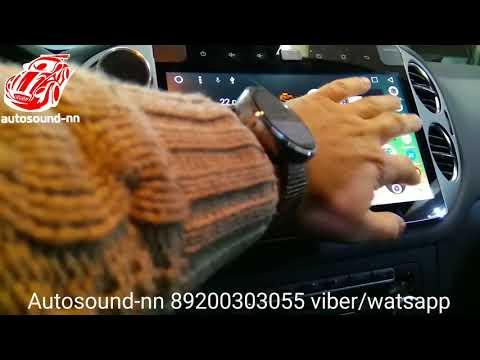 """Штатная Магнитола VW Tiguan(2009+)10"""" Android 6.0"""