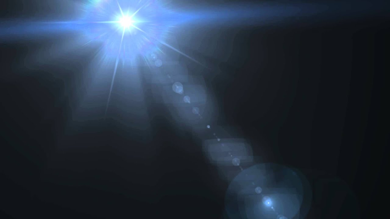 Lens Flare in the Sky - Free HD Animation - YouTube for Lens Light Effect Png  186ref