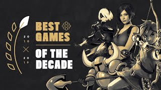 The Best Games of the Decade (2010 - 2019)