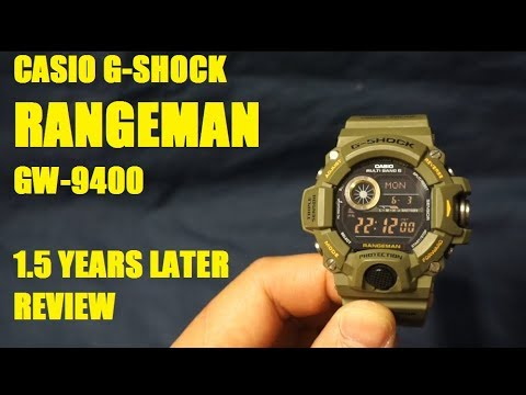 Casio G Shock Rangeman GW-9400 Review Update: 1 And A Half Years Later
