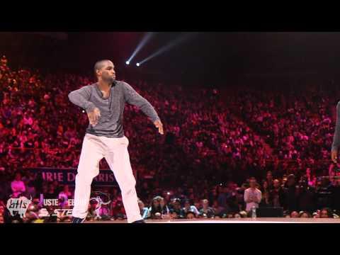 Bruce Ykanji & Gator vs Nelson & Franqey at Juste Debout Steez 2012 | YAK FILMS | Popping Battle