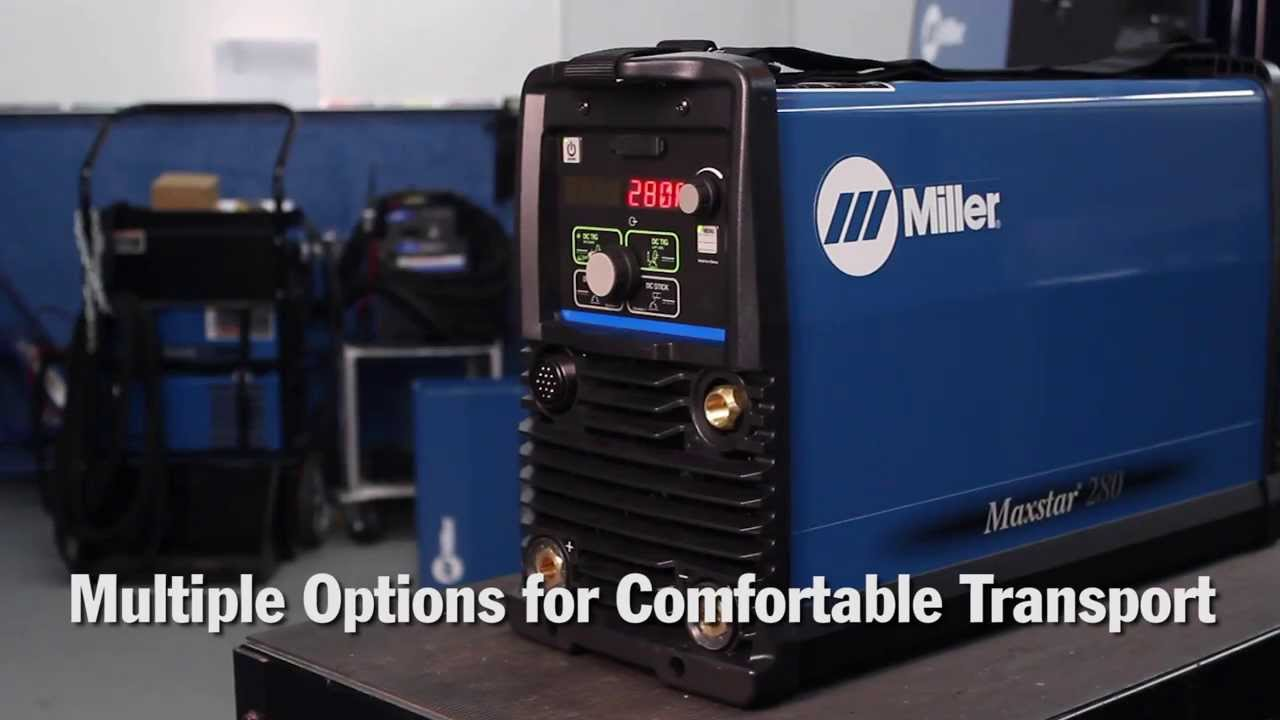 Miller Tig Welder For Sale >> Miller Maxstar 280 Tig Welder Delivers More Power In Capable And Portable Light Weight Package