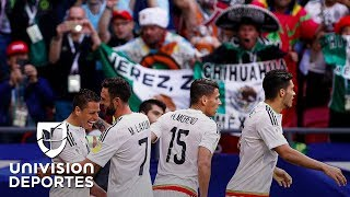 Con esta alineación, Osorio y el Tri planean regresar a la final de Confederaciones 18 años después
