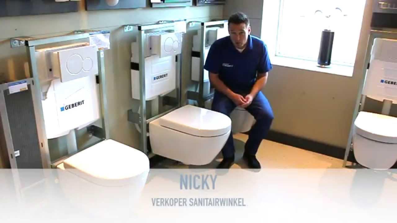Hoeveel ruimte heb je nodig voor een toilet? youtube