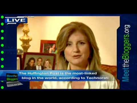 Meet The Bloggers: Arianna Huffington on the Importance of Blogging