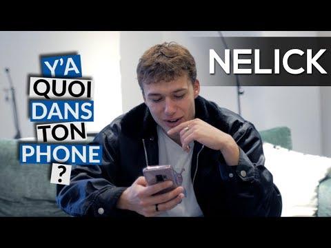 Youtube: NELICK: Sa playlist pour Y'A QUOI DANS TON PHONE?