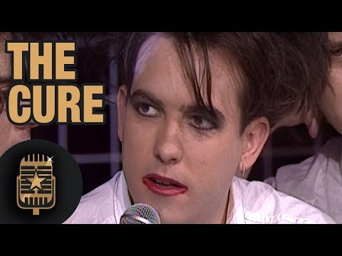 The Cure's Robert Smith is interviewed by TopPop's Leonie Sazias • Celebrity Interviews Mp3