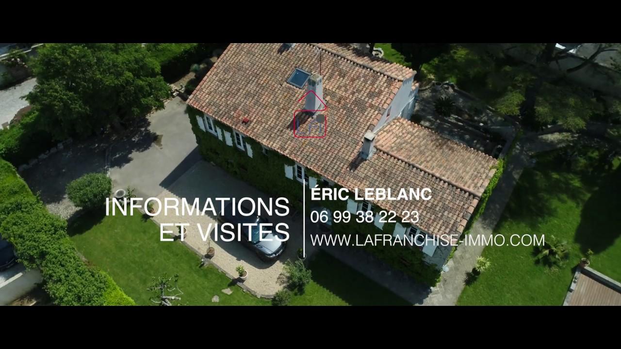Vidéo promotionnelle d'un bien immobilier - par drone uniquement