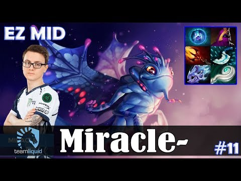 Miracle - Puck EZ MID | Dota 2 Pro MMR  Gameplay #11