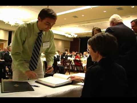 Highlights of the Phi Beta Kappa initiation dinner
