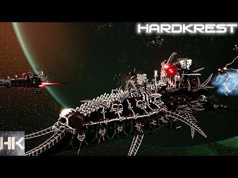 Battlefleet Gothic Armada 2 прохождение Хаос - Трудно =13= Разрушая системы
