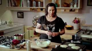 "Breville Presents ""make It Vegan"" Puffy Pillow Pancakes: Isa Chandra Moskowitz"
