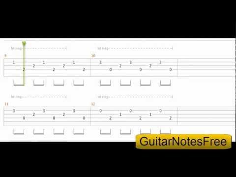 Himn Of The Immortal Warriors - Manowar Guitar Tab HD