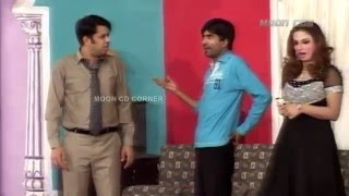 Best of Sajan Abbas and Naseem Vicky New Pakistani Stage Drama Full Comedy Clip