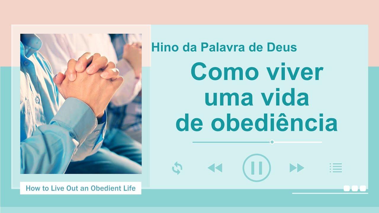 """Música gospel 2020 """"Como viver uma vida de obediência"""""""