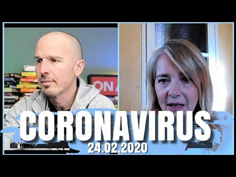 Coronavirus, aggiornamento 24 Febbraio 2020