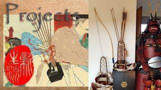Ebira part3 - DYI Samurai Kyudo & Yabusame quiver - Ancient Japanese archery quiver