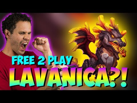 Free 2 Play Gets LAVANICA Clutch Roll Castle Clash