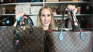 Louis Vuitton Speedy 30 to Neverfull MM | Bag Swap Edition