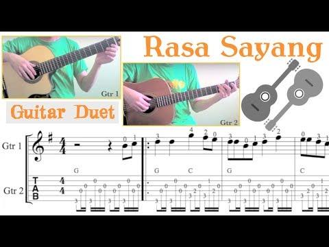 Rasa Sayang (Guitar Duet)