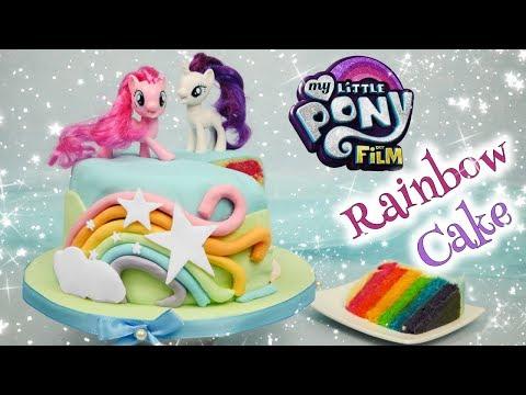 My Little Pony Cake I Rainbow Cake zu MY LITTLE PONY - DER FILM I Gewinnspiel