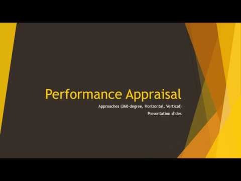 Approaches Of Performance Appraisals