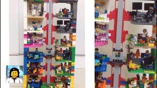 Como construir um incrível Hotel de Lego