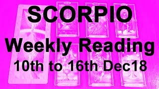 Baixar SCORPIO WEEKLY READING - 10TH TO 16TH DEC 18 - LIBERATION! STRENGTH & POWER - Tarot Reading