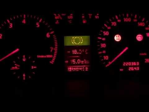 Корректировка показаний расхода топлива Audi A6 C5